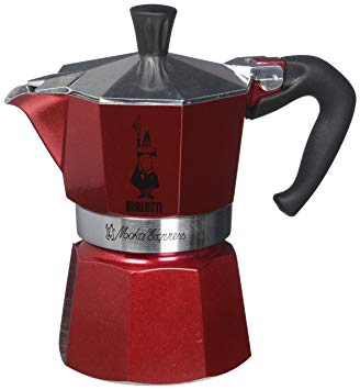 Гейзерная кофеварка Bialetti Moka Express EMOTION RED 3 порции красная СЛ