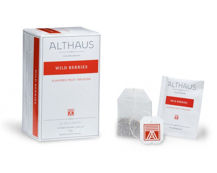 Чай в пакетиках Althaus Wild Berries фруктовый