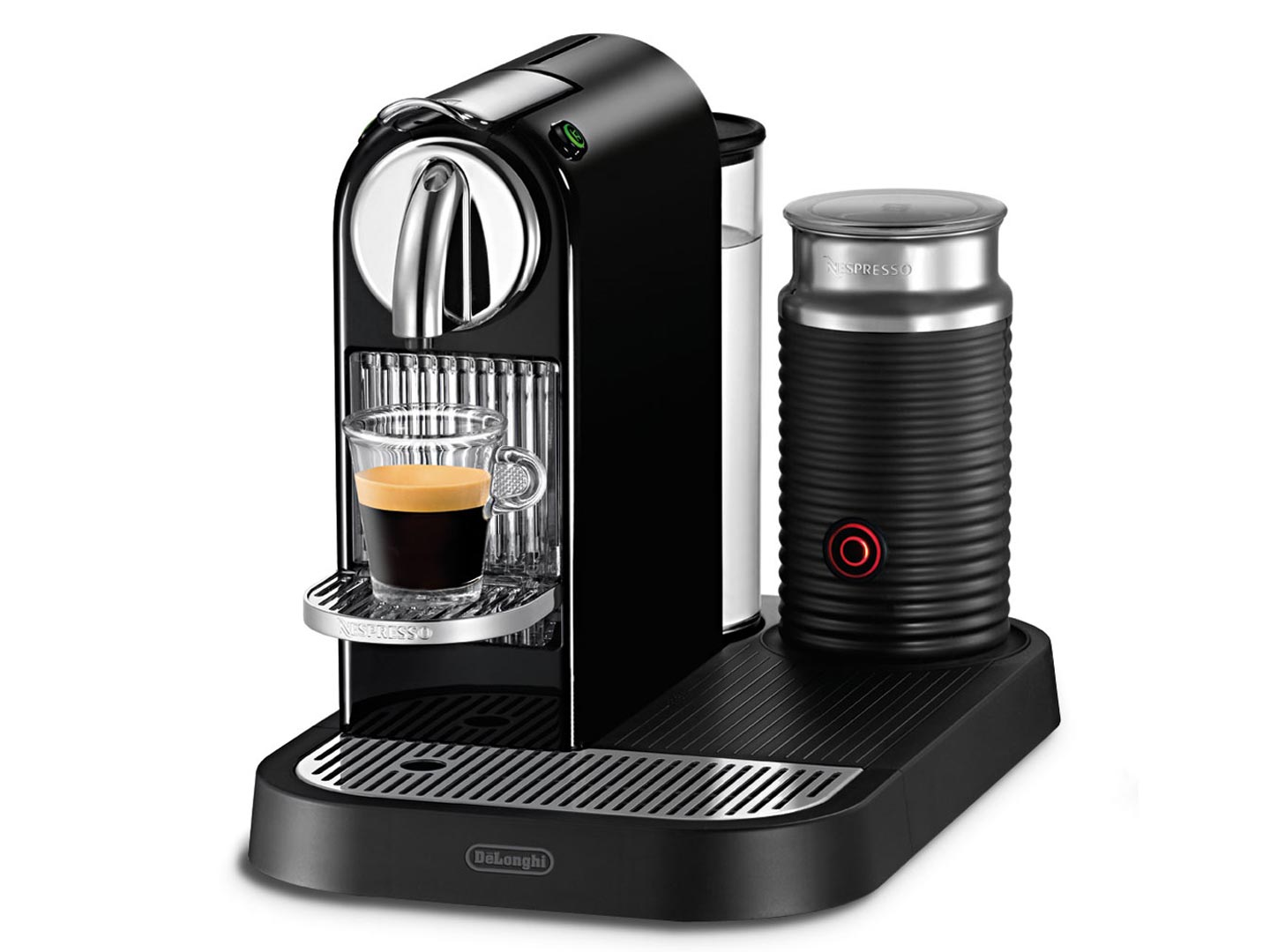 Капсульная кофеварка DeLonghi NESPRESSO CITIZ and MILK EN 266.BAE